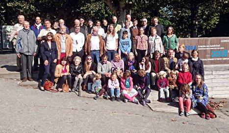 Gruppenbild Familientag 2014